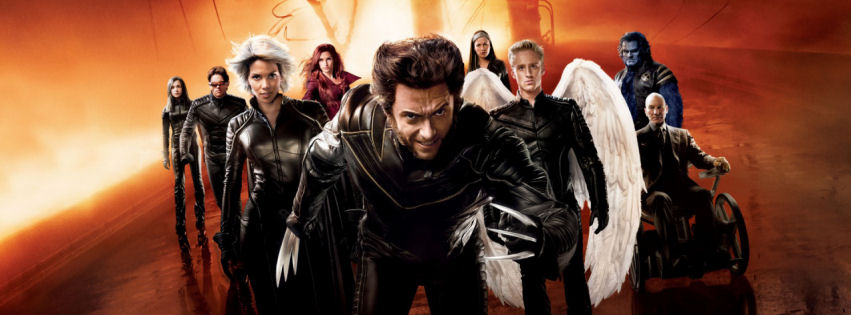 X men the last stand facebook cover