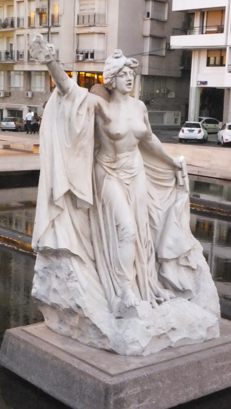 Estatuas de Lola Mora, Rosario, Argentina