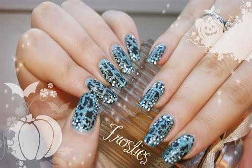 Crackel blue