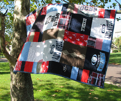 This Memorial Quilt has brought comfort to my friend-and for that I am very thankful.
