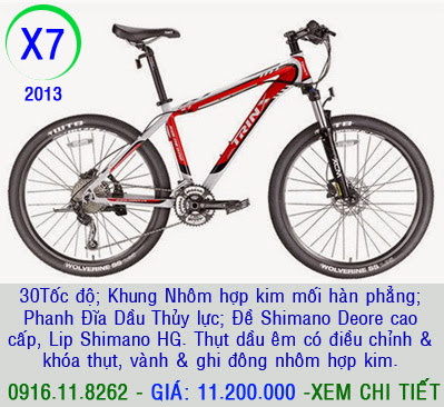 XE ĐẠP THỂ THAO, xe dap the thao, xe dap trinx, xe đạp thể thao chính hãng, xe dap asama,  x7 2013