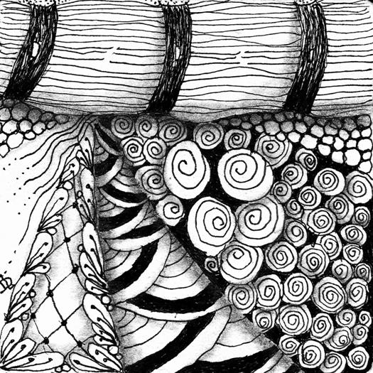What is ZENTANGLE? | Artful Explorations In Nature: