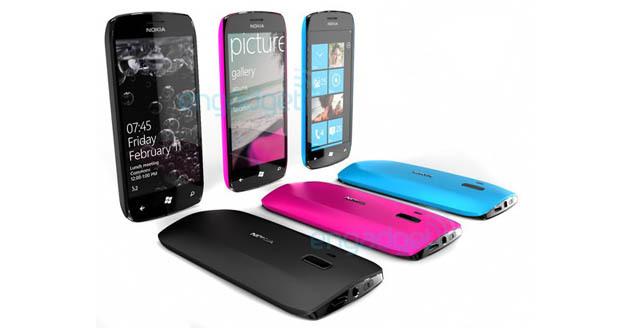Nokia WP7 phones