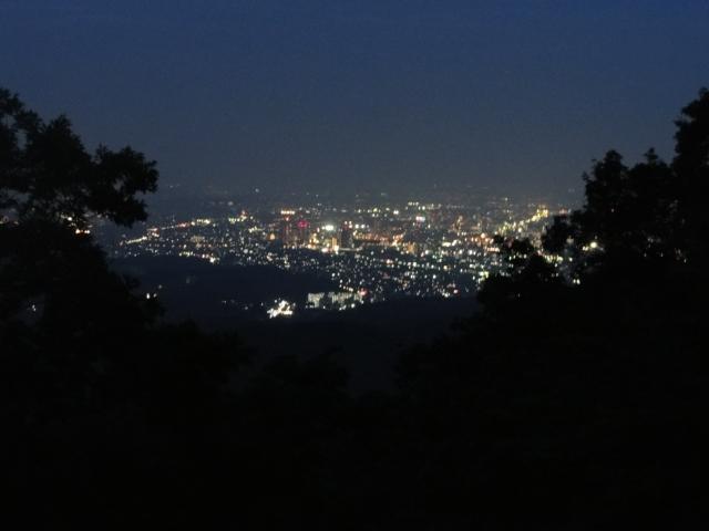 高尾山 夜景 東京