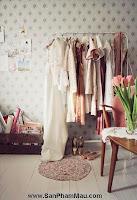 Các mẫu thiết kế của phòng thay đồ