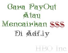Cara PayOut atau Mencairkan Dollar Di Adf.ly