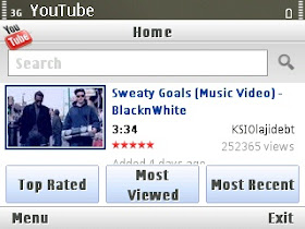 Download youtube mobile aplication version 2.04
