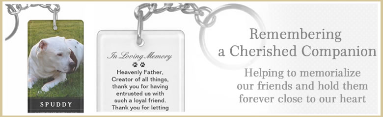 pet memorial keychain keepsake