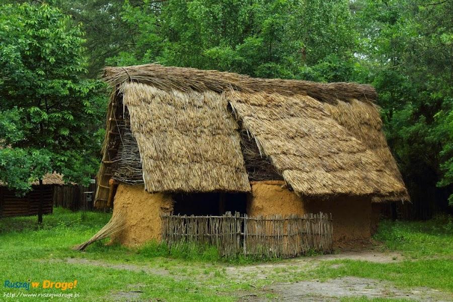krzemionki  - wioska neolityczna