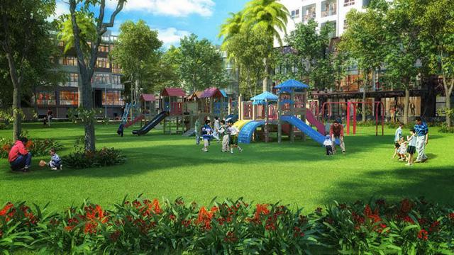 Khuôn viên vui chơi dành cho trẻ em tại Louis City