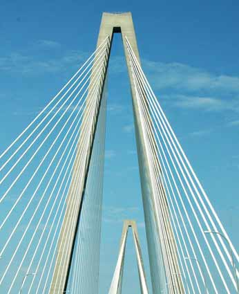 Cooper River Bridge in Charleston by SweeterThanSweets