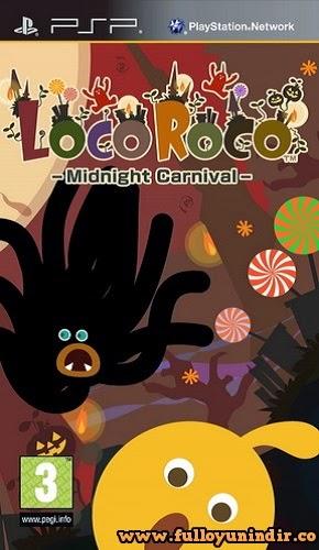 LocoRoco Midnight Carnival PSP