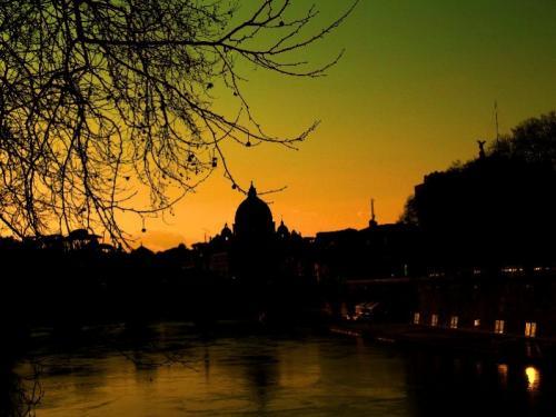 tramonto su Roma