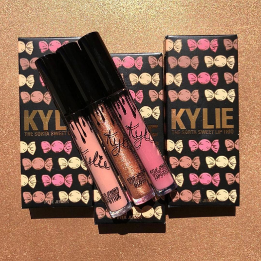 son Kylie The Sorta Sweet Lip Trio