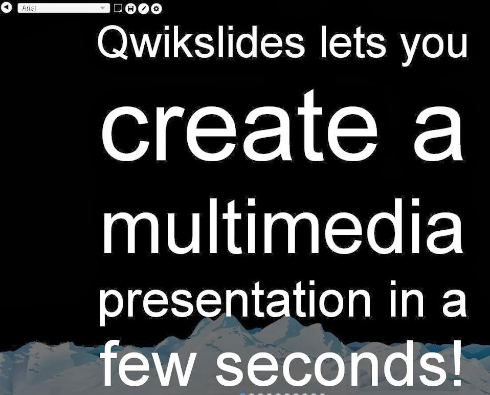 QwikSlides, crea presentaciones multimedia de forma rápida y sencilla   Gustavo Martínez Blog´s
