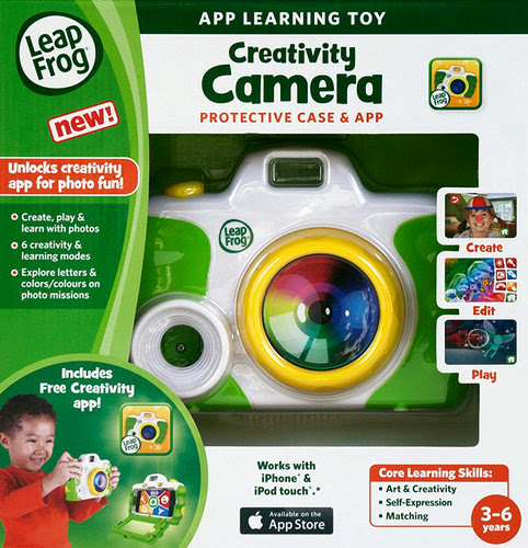 Bao bì sản phẩm Máy ảnh của bé LeapFrog