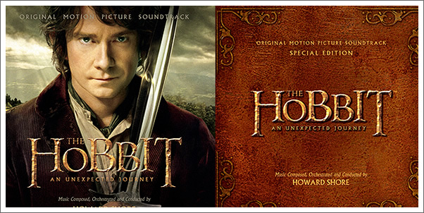The Hobbit: An Unexpected Journey Soundtrack by Howard Shore - 2 CD Set to come