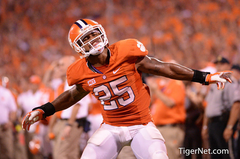 Georgia at Clemson Photos - 2013, Football, Georgia, Roderick McDowell
