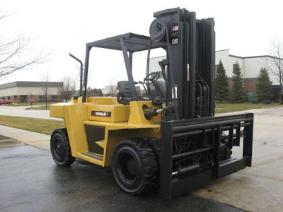 Caterpillar forklift - Fork Positioner