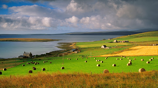 Farmland at Houton, Orkney Islands, Scotland.jpg