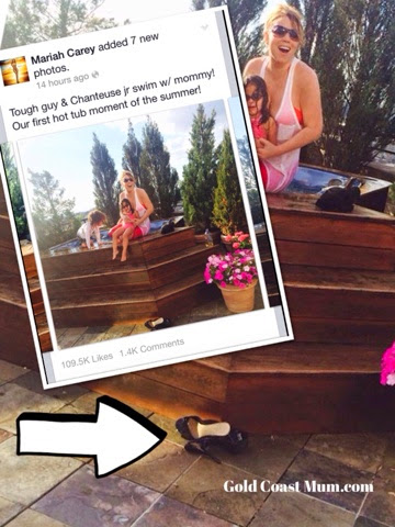 Heels At Home Not A Thong In Sight For Mariah Carey Gold Coast Mum