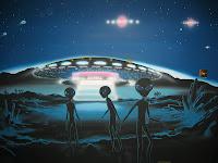 πράσινοι,γκρίζοι,εξωγήινοι,κάθοδος εξωγήινων,ιπτάμενος δίσκος