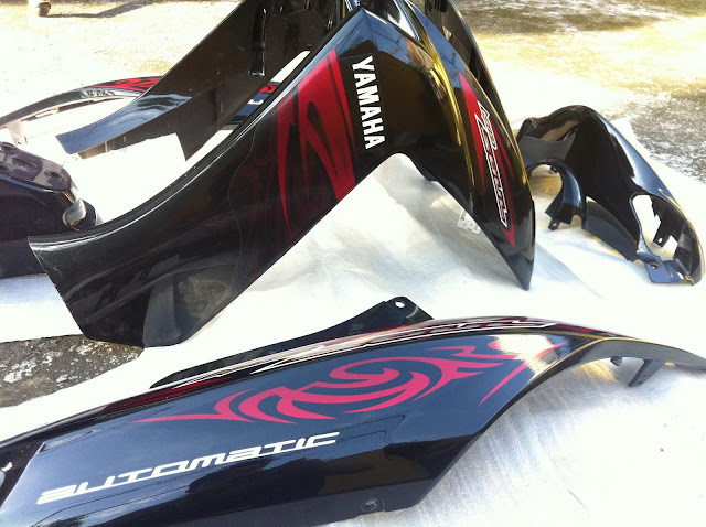 Yamaha Cii Black