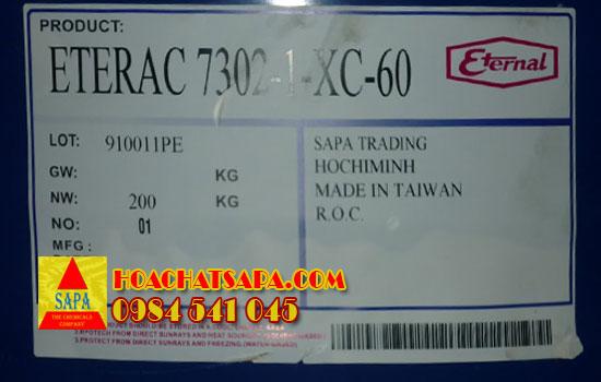 Hóa Chất SAPA   Eterac 7302-1-xc-60 Acrylic resin