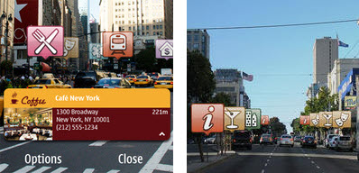 Layar Reality Browser for Nokia N8