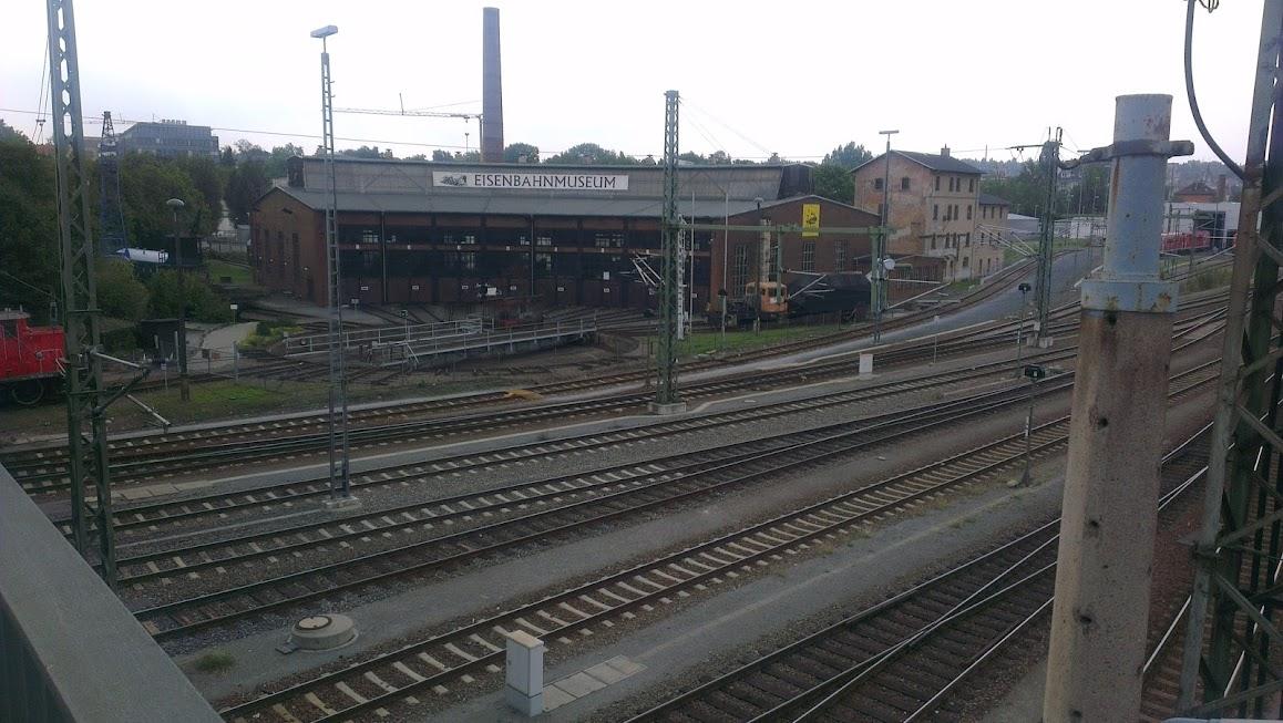 Am Eisenbahnmusem