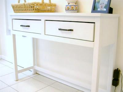 diy 2 drawer sideboard
