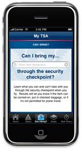 My TSA App