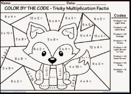Math Worksheet Fun. Images About Math On Pinterest Times Tables ...