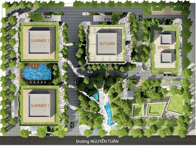 Quy hoạch chung cư Goldseason TNR 47 Nguyễn Tuân