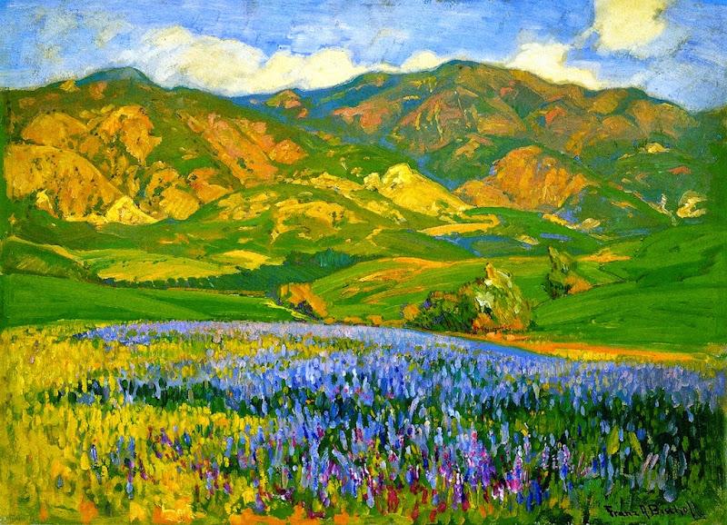 Franz Bischoff - San Fernando Valley, Lupines