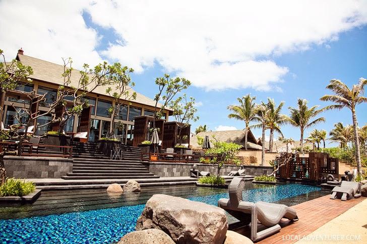 St Regis Bali Pool.
