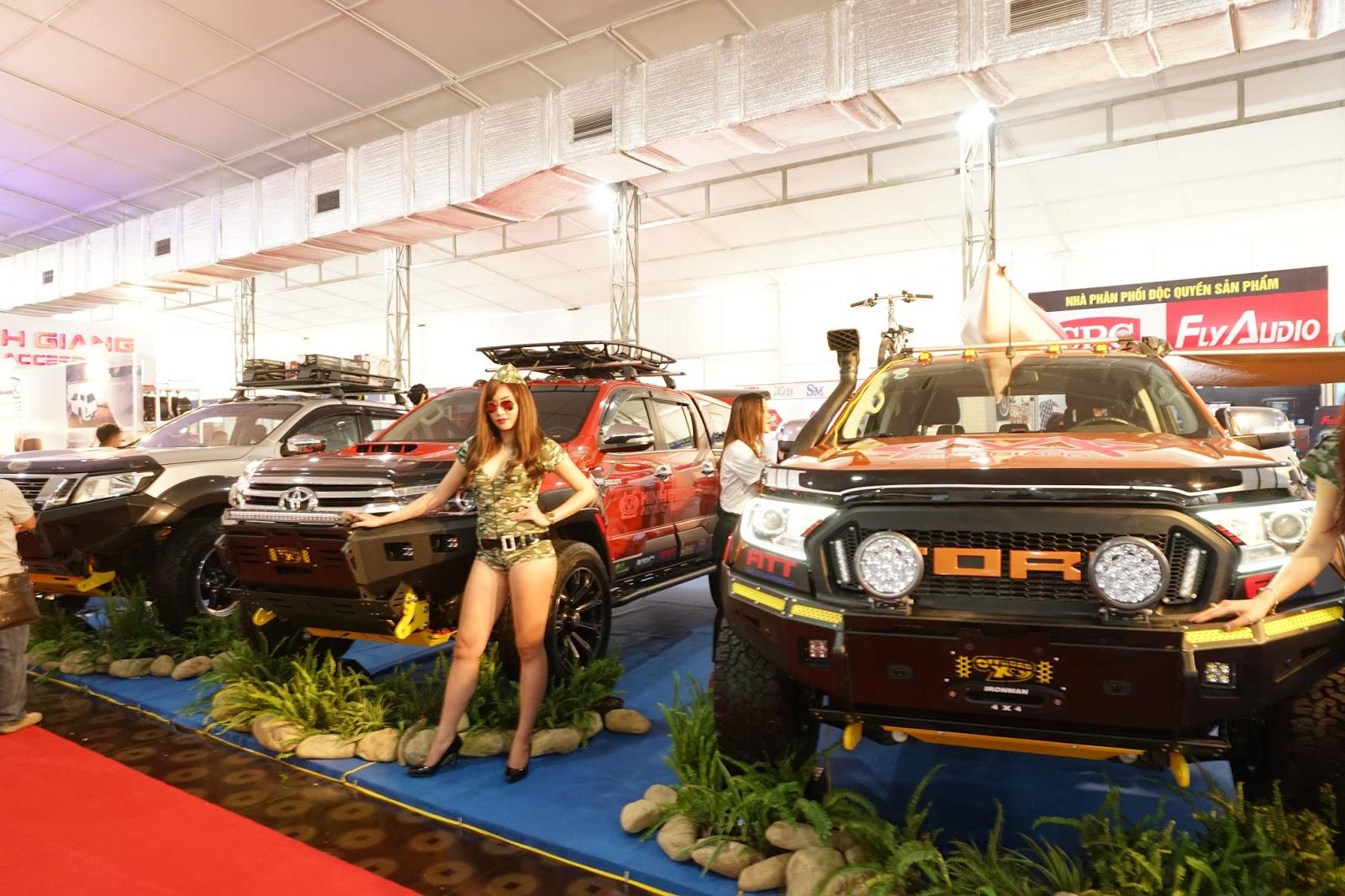Những chiếc bán tải quá nhiều khác biệt giữa Vietnam Motor Show năm nay