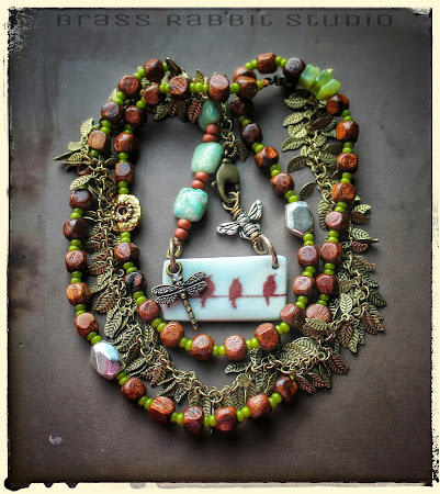 Be Free Necklace by Brass Rabbit Studio