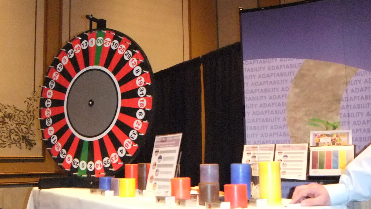 Budget Roulette Wheel Attraction - Player guesses the number!