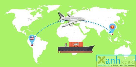 Dịch vụ ship hàng từ mỹ về việt nam uy tín tại Xanh Logistics