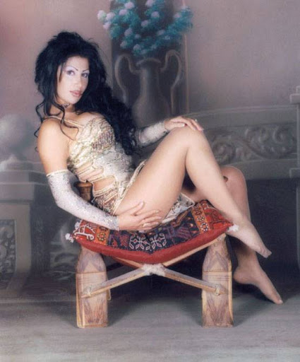Arab Model Yosra sit down