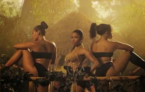 Anaconda de Nicki Minaj es hoy todo un éxito en términos publicitarios