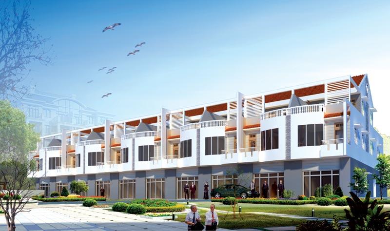 Phố liên kế làng đại học Thủ Dầu Một