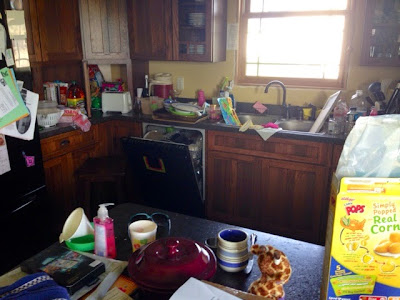 My Messy Kitchen