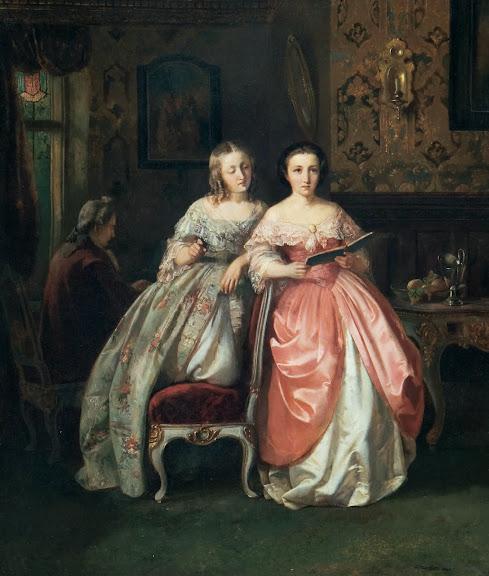 Daniel Maclise - The duet, 1842