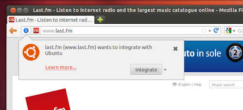 Ubuntu Web App - integrazione