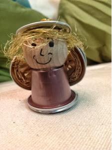 Meine Kreative Welt Engel Aus Nespresso Kapseln