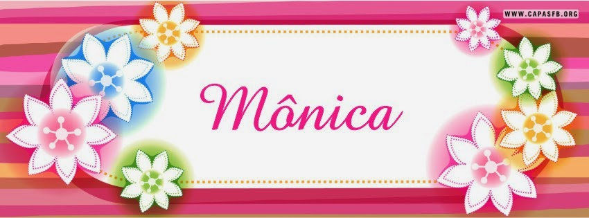 Capas para Facebook Mônica