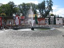 Goleniów fontanna