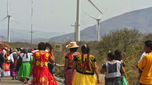 Works Begin On New Wind Farm In Mexico